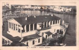 "02210 ""ALGER - STATION SANITAIRE"" BARCHE.  CART.  ORIG.   SPED. 1931 - Algeri"