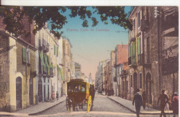 107-Reus-Catalogna-Spagna-Calle De Castellar-Animata Diligenza O Carrozza-Nuova-Nueva-Nouveau-New - Autres