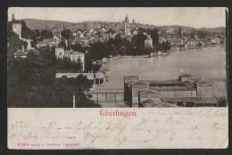ÜBERLINGEN Bodensee Fotokarte Tübingen Nach Brombach 1901 - Ueberlingen
