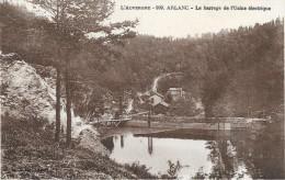 ARLANC (cpa63) - ARLANC - Barrage De L´usine électrique - - Autres Communes