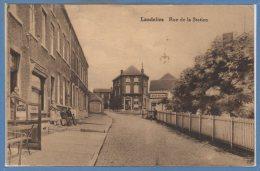 BELGIQUE --  LANDELIES --  Rue De La Station - Belgium