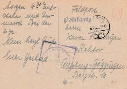 Feldpost WW2: Unknown Unit P/m Stralsund 8.7.1941 - Plain Postcard  (G73-61) - Militaria