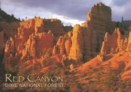 CPM USA Utah, Red Canyon, Dixie National Forest / Eroding Sedimentary Rock / Falaises, Roches Colorées, Géologie - Non Classés