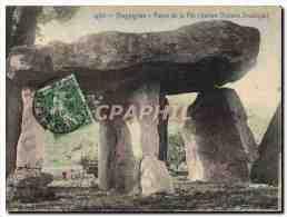 CPA Menhir Dolmen Draguignan La Pierre De La Fee Ancien Dolmen Druidique - Dolmen & Menhirs