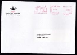 Netherlands: Cover, 1999, Meter Cancel, Dutch Castles Trust, Castle, Heritage (traces Of Use) - Briefe U. Dokumente