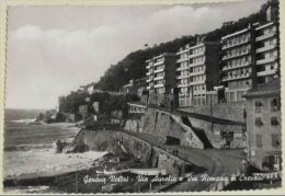 GENOVA Voltri - Via Aurelia E Via Romana Di Crevari - 1961 - Genova