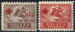Polska 1921. Michel #154/55 VF/MNH(**) (L36) - 1919-1939 Republic