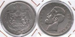 RUMANIA  CAROL I 5 LEI 1883 PLARA SILVER Z - Rumania