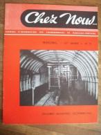 MONCEAU FONTAINE:CHEZ NOUS JOURNAL D�INFORMATION DES CHARBONNAGES 1965