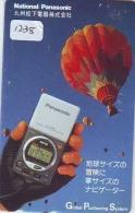 Telecarte  JAPON * Sport * MONTGOLFIERE (1238) * Hot Air Balloon * Ballon * Aerostato  * PHONECARD JAPAN * - Sport