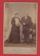 Photo De Mariage  --   Début Du Siècle  --  Colmar  -- établ  Muhlbauer - Personnes Anonymes