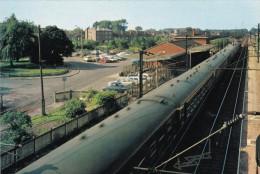 - 62- Libercourt - La Gare ( Avec Train En Stationnement) - - France