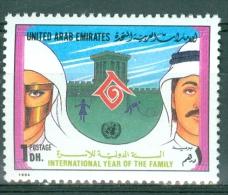 United Arab Emirates 1994 Year Of The Family MNH** - Lot. 3696 - Emirats Arabes Unis