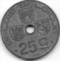BELGIE - BELGIQUE - 1944 - 25 C - 1934-1945: Leopold III