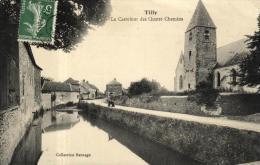 91059 - Tilly (78) Le Carrefour Des Quatre Chemins - Autres Communes