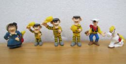 Figurines SCHWIND 1997 : LUCKY LUKE : Lot De 6 Personnages - Figurines