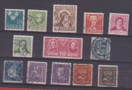 Suède //  Lot De Timbres Anciens  //   A Voir !! - Collections