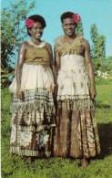 Traditional Dress, Couple, Fiji - Stinsons 1060 Unused, Probably 1960s - Fiji