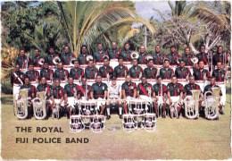 The Royal Police Band, Fiji - Samuel Lee Used, Probably 1960s - - Fiji