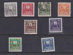 Suède //  Lot De Timbres Anciens  //   A Voir !! - Suède