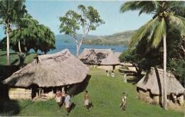 School Overlooking Natewa Bay, Fiji - Stinsons 1094 Unused, Probably 1960s - Fiji