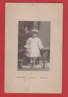 Photo Enfant --   Début Du Siècle  --  Colmar  -- établ  établ Sev Schoy - Anonymous Persons