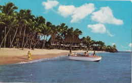 On The Beach, Fiji - Stinsons 1183 Unused, Probably 1960s - Fiji