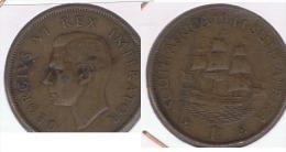 SUDAFRICA SOUTH AFRICA PENNY GEORGIUS VI 1944 Z - Sudáfrica