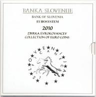 SLOWENIA - SLOWENIEN - SLOVÉNIE OFFICIAL 8.88 EURO MINT SET BIMETAL 2010 UNC - Slovénie