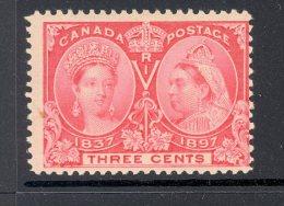 CANADA, 1897 3c Jubilee Very Fine UM - 1851-1902 Regering Van Victoria