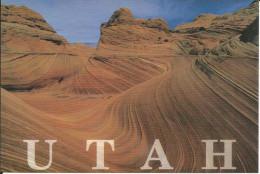 CPM USA Utah, Vermillion Cliffs - Red Rock Plateau, Like Petrified Sand Dunes (roches, Paysage Rocheux, Sable, Plis) - Non Classés