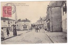 LA MOTHE ACHARD. - Centre Du Bourg. Cliché Assez Rare - La Mothe Achard