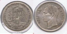 VENEZUELA BOLIVAR 1954 PLATA SILVER Z - Venezuela