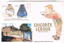 2 MIMI CALENDRIERS   CHICOREE PUB LEROUX     1984+1997... CAL22 - Calendriers