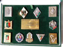 """Insignes Militaire """"LEGION ETRANGERE"""" Military Badges """"FOREIGN LEGION"""" - RARE"""