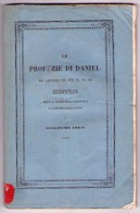 Le Profezie di Daniel nei capitoli VII, VIII, IX, XI, XII. Guglielmo Forti di Siena.