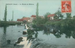 25 QUINGEY / Le Moulin De Bellerive / CARTE COULEUR - France