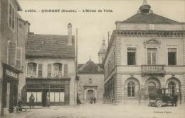 25 QUINGEY / L'Hôtel De Ville / - France