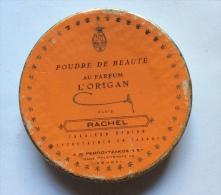 CARDBOARD BOX POUDRE DE BEAUTÉ AU PARFUM L'ORIGAN  EMPTY BOX RACHEL PARIS POUDRE D' ORSAY - Beauty Products