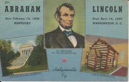 EN L ETAT - ABRAHAM LINCOLN - Etats-Unis