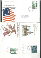 1976. THREE ILLUSTRATED COVERS.  FIRST DAY OF ISSUE . - United States