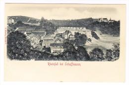AK SH Schaffhausen Reinfall Ungebrauchte Relief Karte C. Höchli - SH Schaffhouse