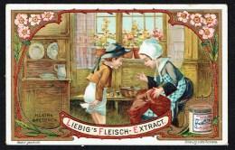 LIEBIG  - D - 1 Chromo - S860 - N° 3 - Kleine Bretonen - Enfants Bretons. - Liebig