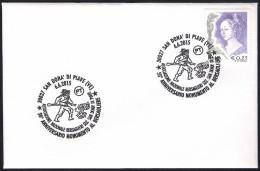 Italia Italy (2015) Annullo Speciale/special Postmark: San Donà Di Piave - Monumento Ai Bersaglieri; As Scan - Jobs