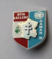 Insigne GTIA Leclerc DAMAN VI LIBAN 2 DB FINUL
