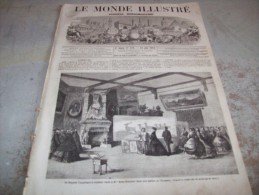 LE MONDE ILLUSTRE 28 JUIN 1864 : ALGERIE - GUERRE D'AMERIQUE - MACHINE A COUDRE - TRANSATLANTIQUE