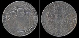 Germany Sachsen Albertinische Linie Dreibrüdertaler 1599HB - Taler Et Doppeltaler