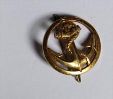 INSIGNE MILITAIRE b�ret Infanterie de Marine RIMA CoinDeroux