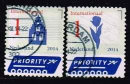 Niederlande 2014, Michel# 3207 - 3208 O - 2013-... (Willem-Alexander)