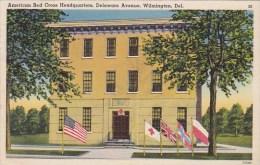 American Red Cross Headquarters Delaware Avenue Wilmington Delaware 1943